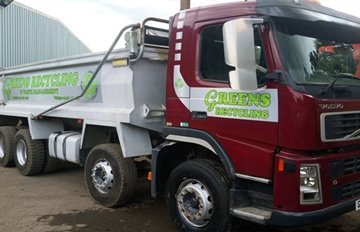 32 Tonne Tipper Lorry For Hire With Driver