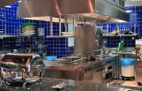 Custom Made Stainless Steel Wall Cladding For Catering Industries  In Chigwell