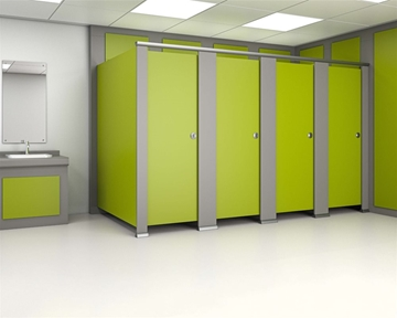 Bespoke Toilet Cubicle Systems