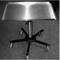 Stainless Steel Roller Tables for Dental Hospitals