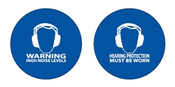 Noise Activated Warning Signs