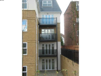 Tinted Glass Balconies in Ealing