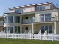Curved Glass Balustrades in East Sussex