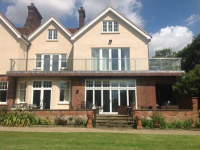 Large Glass Balustrades In Essex