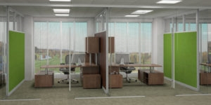 Installation Of Office Partitioning Systems