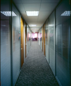 Metal Framed Office Partitions