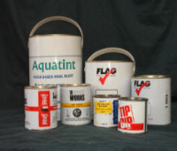 Silk Screen Printing On Large Plastic containers