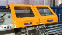 Sliding Machine Safety Guards With Glass Screen