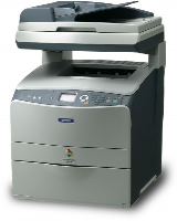 Epson Aculaser CX21n 21n A4 Colour Network All-In-One Printer C11C680002 - Refurbished