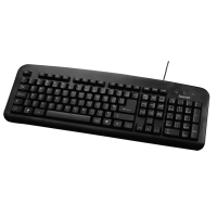 hama Basic Keyboard Black 73057209 - MW01