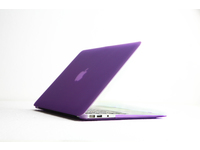 "ESTUFF SatinShell for MacBook 13"" Air Frosted Purple ES82111 - eet01"