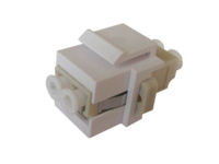 MicroConnect Snap-in Fiber Keystone with LC multimode duplex adapter  FIBLCKEY - eet01