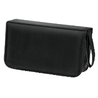 hama CD/DVD/Blu-ray Wallet 120 black 00033833 - MW01