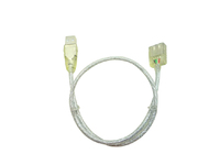 MicroConnect USB2.0  Extension A-A 1m M-F Transparent USBAAF1T - eet01