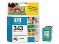 HP Inc. Ink 3-Color 7ml Pages 260 ( No. 343 ) C8766EE - eet01