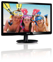philips 20 LCD Monitor 200V4LAB2/00 - MW01