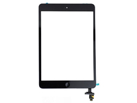 MicroSpareparts Mobile Touch panel assembly(with IC, Small parts) Black TABX-MNI2-WF-INT-1B - eet01