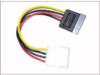 MicroConnect SATA Power 4pin-15pin 0,2m  PI01082 - eet01