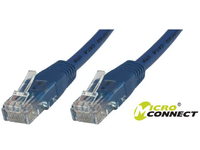 MicroConnect U/UTP CAT6 1.5M Blue LSZH Unshielded Network Cable, UTP6015B - eet01