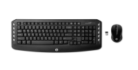 Hp Hp Wireless Classic Desktop - Keyboard And Mouse Set - Wireless - 2.4 Ghz - French - Black - For Hp; Envy; Envy Phoenix; Envy Touchsmart; Pavilion; Pavilion Gaming; Slimline; X2 Lv290aa#abf - xep01