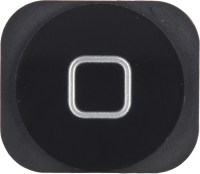 MicroSpareparts Mobile Home Button iPhone 5 Black  MOBX-IP5G-INT-6 - eet01