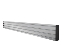 B-Tech Horizontal Mounting Bar - 0.7m SYSTEM X, Silver BT8390-070/S - eet01