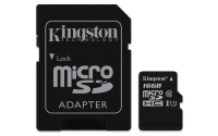 Kingston MicrosSD 16GB Canvas Select **New Retail** SDCS/16GB - eet01
