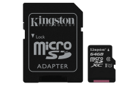 Kingston MicrosSD 64GB Canvas Select **New Retail** SDCS/64GB - eet01