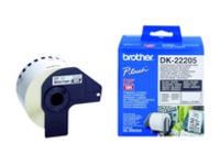 Brother Paper Tape White 62mm 500/550 Continous Paper Tape DK22205 - eet01