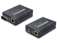 Planet IEEE802.3af/at PoE 10/100/1000 To 100/1000X SFP Converter GTP-805A - eet01