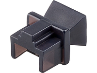 MicroConnect Dust cover for RJ45 port, blac To protect RJ45/ISDN/network CABLEMANA-10 - eet01