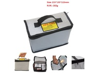 MicroSpareparts Mobile Fireproof Battery Safebox LIPO Battery Bag MOBX-TOOLS-061 - eet01