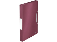 Leitz Box File Leitz Style Pp 30Mm Garnet Red 39560028 - eet01