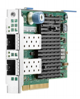 Hewlett Packard Enterprise Hpe 562flr-sfp+ - Network Adapter - Pcie 3.0 X8 - 10 Gigabit Sfp+ X 2 - For Proliant Dl20 Gen10  Dl360 Gen10  Dl380 Gen10  Dl385 Gen10  Dl580 Gen10  Xl450 Gen10 727054-b21 - xep01