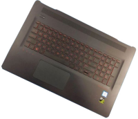 HP Inc. Top Cover & Keyboard (French) Backlit 862972-051 - eet01
