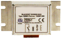 Honeywell Screen blanking switch box Universal VX89351PWRSPLY - eet01