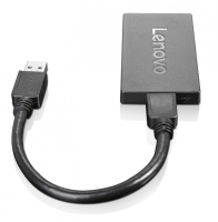 Lenovo Lenovo - External Video Adapter - Usb 3.0 - Displayport - For Miix 510-12; 710-12; Thinkpad E57x; L470; L570; P51; P71; T470; X1 Carbon (4th Gen); V510 4x90j31021 - xep01