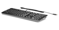 Hp Hp Smart Card Ccid - Keyboard - Usb - English Qwerty - Silver  Carbonite - For Hp T628; Elitedesk 705 G3  705 G4; Eliteone 800 G3; Workstation Z4 G4  Z6 G4  Z8 G4 E6d77aa#abb - xep01