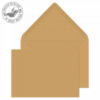 4002 Blake Purely Everyday Manilla Gummed Banker Invitation 114X162mm 90Gm2 Pack 1000 Code 4002 3P- 4002