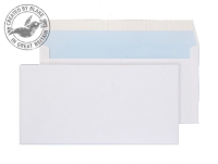 23882/50 PR Blake Purely Everyday White Peel & Seal Wallet 110X220mm 100Gm2 Pack 500 Code 23882/50 Pr 3P- 23882/50 PR