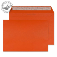 328 Blake Creative Colour Marmalade Orange Peel & Seal Wallet 162X229mm 120Gm2 Pack 500 Code 328 3P- 328