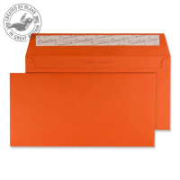 228 Blake Creative Colour Marmalade Orange Peel & Seal Wallet 114X229mm 120Gm2 Pack 500 Code 228 3P- 228
