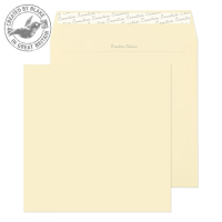 553 Blake Creative Colour Clotted Cream Peel & Seal Square Wallet 220X220mm 120Gm2 Pack 250 Code 553 3P- 553