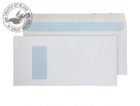 520W Blake Purely Everyday White Window Gummed Mailer 152X315mm 100Gm2 Pack 250 Code 520W 3P- 520W