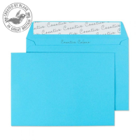 109 Blake Creative Colour Cocktail Blue Peel & Seal Wallet 114X162mm 120Gm2 Pack 500 Code 109 3P- 109