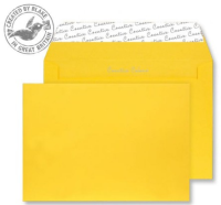 304 Blake Creative Colour Egg Yellow Peel & Seal Wallet 162X229mm 120Gm2 Pack 500 Code 304 3P- 304