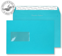 309W Blake Creative Colour Cocktail Blue Window Peel & Seal Wallet 162X229mm 120Gm2 Pack 500 Code 309W 3P- 309W