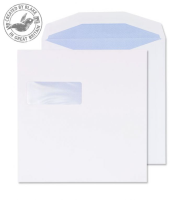 5702 Blake Purely Everyday White Window Self Seal Wallet 220X220mm 100Gm2 Pack 250 Code 5702 3P- 5702