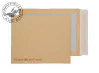 22935 Blake Purely Packaging Manilla Peel & Seal Board Back Pocket 267X216mm 120Gm2 Pack 125 Code 22935 3P- 22935