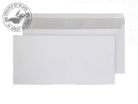519 Blake Purely Everyday White Gummed Mailer 152X315mm 100Gm2 Pack 250 Code 519 3P- 519